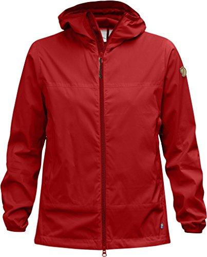 Fjällräven Abisko Femme coupe-vent Jacket W Veste coupe-vent Rouge - rouge