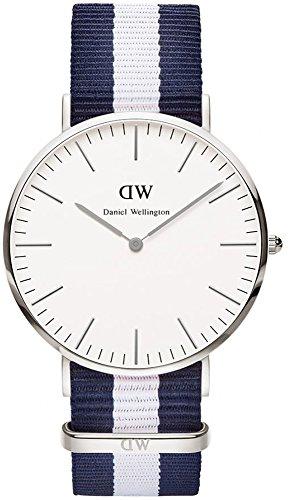 Daniel Wellington - Reloj de pulsera para hombre, color plateado