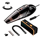 #10: SUN OVERSEAS 4800pa DC12V/120w Powerful Real Portable car vaccum Cleaner Wet and Dry-Washable Filter