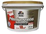 DÜFA D420 PREMIUMWEISS Wandfarbe stumpfmatt 2 L
