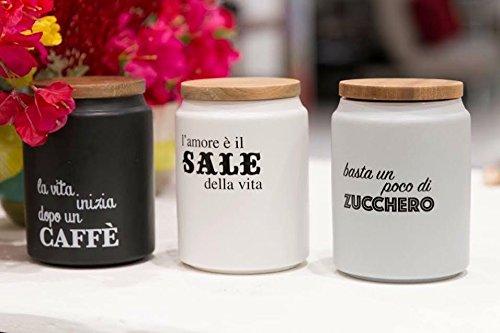 Barattoli zucchero sale caffe caffe usato vedi tutte i for Porta zucchero caffe sale