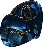 Ortega Lot de 40 médiators en celluloïde Thin Blue Pearl (Import Royaume Uni)
