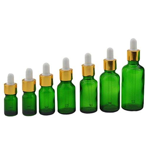 sflaschen Nachfüllbare Leere Öl Bernstein Glas Reagenz Flüssigkeit Pipette Flasche Aromatherapie parfüm Flasche Frau size 15ml ()