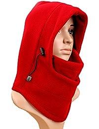 Girl's Hats Symbol Of The Brand Vertvie Unisex Winter Sports Thermal Fleece Hat Bike Windproof Face Mask Ski Snowboard Neck Men Warm Outdoor Fleece Scarf Hats