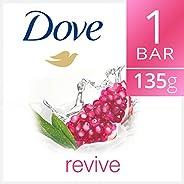Dove Go Fresh Natural Beauty Cream Bar Soap Revive with Pomegranate, 135g