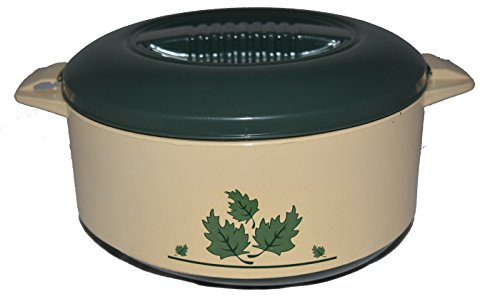 Yellow Chicky Chef Homeware Pearl 1800 Insulated Casserole ,Green