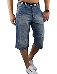 SELECTED HOMME Herren Jeansshort OMAN 877 Longshort kurze Hose Regular Fit