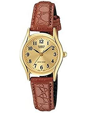 CASIO Damen-Armbanduhr Analog Quarz Textil LTP-1094Q-9B