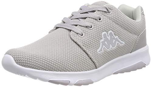 Kappa Sash W, Sneaker Donna, Schwarz (Black/White 1110), 38 EU