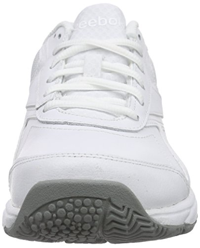 Reebok Damen Work N Cushion 2.0 Sneakers Weiß (White/Flat Grey) ...