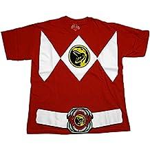 Power Rangers Ranger disfraz adulto camiseta