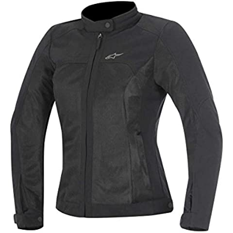 Alpinestars Air Eloise Mujer Street–Chaquetas de Moto Negro