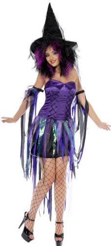 Frech Hexe - Erwachsene Halloween Kostüm