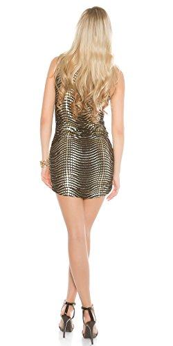 In-Stylefashion -  Vestito  - Donna Gold