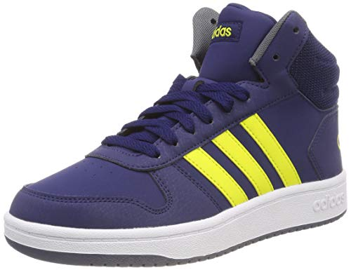 uk availability 73d3b 24094 Adidas Hoops Mid 2.0 K, Scarpe da Basket Unisex-Bambini, Blu Dkblue