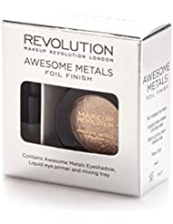 Makeup Revolution Awesome Metals Eye Foils Rose Gold