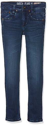 Garcia Kids Jungen Super Slim waist Jeans 320, Einfarbig, Gr. 170, Blau (spruce Blue 2462)
