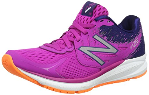 New Balance Damen Laufschuhe, Mehrfarbig (Poisonberry/Tempest), 41 EU (7.5 UK)