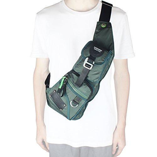 Innturt Bodybag-Tagesrucksack, Nylon, für Outdoor-Aktivitäten B-Lake Blue