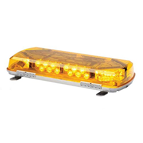 Serie Strobe Beacon (Whelen Engineering Jahrhundert Serie super-led Mini Lightbar, 40,6 cm Permanent Mount – Bernstein)