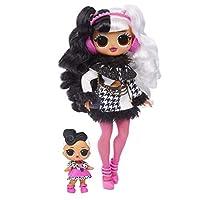 L.O.L. Surprise O.M.G. Winter Disco Dollie Fashion Doll & Sister, Multi-Colour, 561798