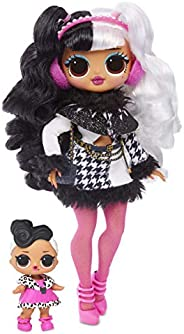 L.O.L. Surprise O.M.G. Winter Disco Dollie Fashion Doll & Sister, 561798, Assorted Co