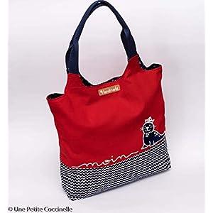 DIY Nähpaket Charlie Bag Maritim Rot