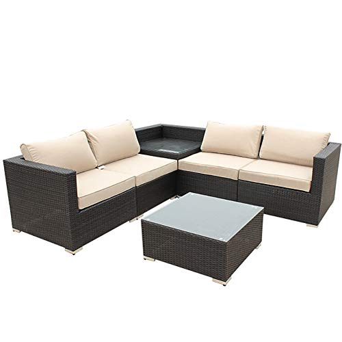 Zhuowei Garden furniture polyrattan garden furniture set lounge seating furniture garden sofa garden furniture