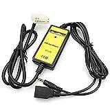 SODIAL 5+7Pin USB AUX Mp3 Player Adapter Car Digital Music Cd Changer Adapter Toyota (5+7) Pin Camry Corolla Lexus RAV4 Yaris