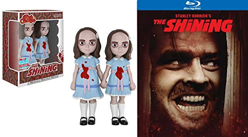 Grady Twins from The Shining Stanley Kubrick Horror Feature movie Rock Candy Duo Figure bundle Stephen King Collectible