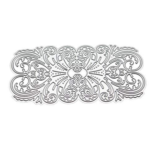 Xmiral fustelle per scrapbooking per carta cutting dies metallo fustella stencil #19042605, accessori per big shot e altre macchina(i)