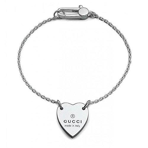 Bracciale Gucci Donna YBA223513001018 Argento