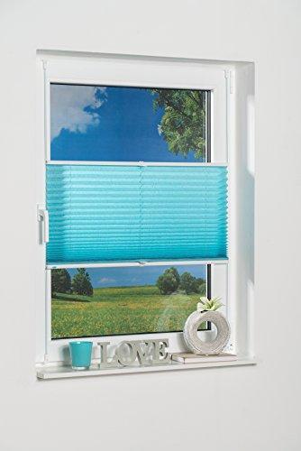 k-home-klemmfix-plissee-palma-100-x-130-cm-b-x-l-iceblau-lichtschutz-moderne-crushed-optik-
