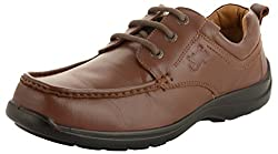 Allen Cooper Mens Tan Leather Derby Shoes - 6 UK