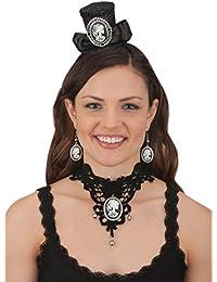 Jacobson Hat Company Skull Cameo Mini Hat Headband