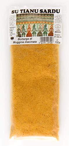 Bottarga di Muggine dalla Sardegna 100g macinata (uova di muggine essiccata grattugiata) produzione artigianale sarda Kosher