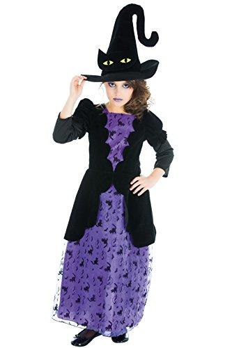 Kostüm Hexe Katze Kinder, Polyester, für 3- bis ()