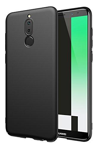 EIISSION Case Kompatibel mit Huawei Mate 10 Lite Hülle, Hardcase Ultra Dünn Huawei Mate 10 Lite Schutzhülle aus Hart-PC Case Cover Handyhülle für Huawei Mate 10 Lite,Schwarz