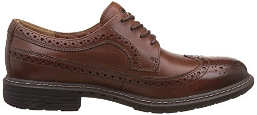 Clarks  Un Limit, Oxford homme Marron - Braun (Tan Leather)