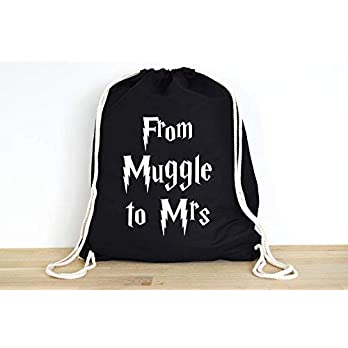 Harry Potter From Muggle to Mrs – Rucksack ODER Jutebeutel