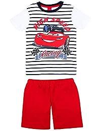 Disney Niños Cars Pijama, Camiseta, Short, ...