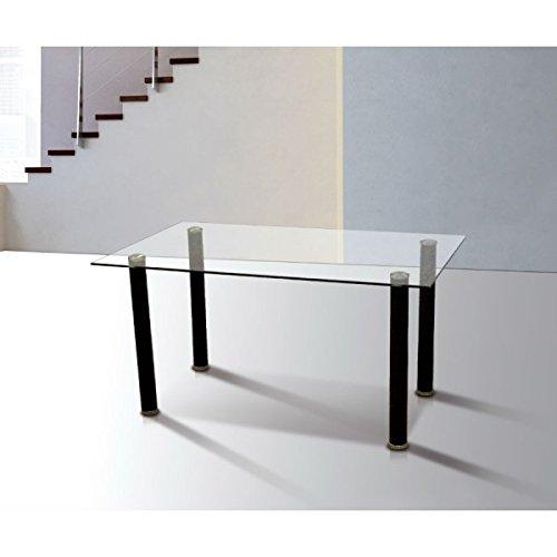 Mobelcenter - Mesa comedor Emi - Cristal - 140x75cm PORTES GRATIS !! R