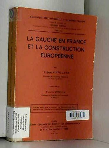 La gauche en France et la construction européenne