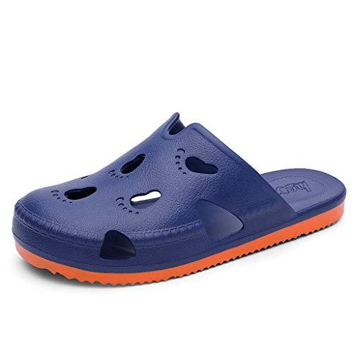 Chaussures Tongs Pantoufles Été Respirant Antidérapantes Baotou Trou Sauvages De Taille Dtuta Mignon Plates Plage Couleur Sandales Grande TJu13lKcF