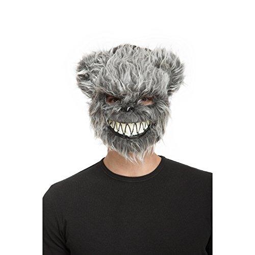 viving Kostüme viving costumes204557Bloody Bär Maske (One Size)
