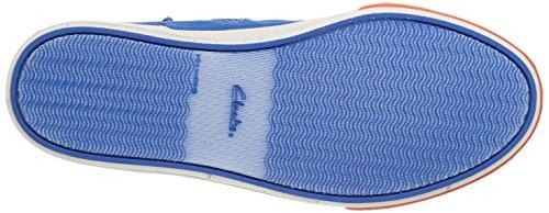 Clarks Club Pop Jnr Jungen Hohe Sneakers Blau (Blue Combi) ngxYpe83X
