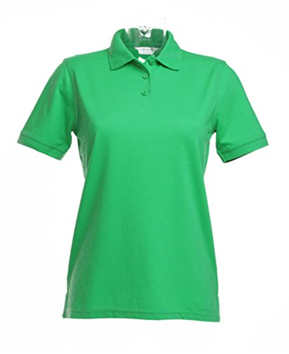 Klassic KUSTOM KIT Damen Polo Shirt Superwash Grün - Apple Green