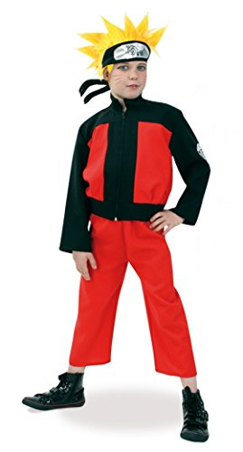 Inception Pro Infinite Größe 128 (4 - 5 Jahre) - Kostüm - Naruto Katsumi Yosomono - Kind - Verkleidung - Karneval - Halloween - Cosplay