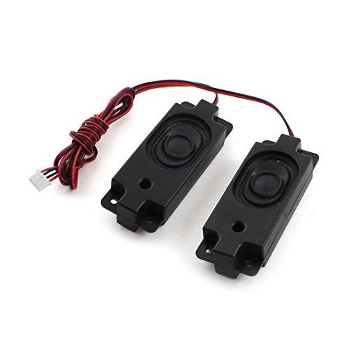 Sourcingmap® 4-Pin Ausgleich Anschluss Rechteckig Magnet Lautsprecher Amplifier 3W 8 Ohm de