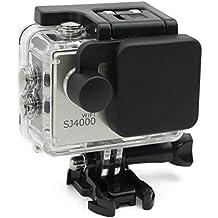 QUMOX Camera Lens Cover Housing Case Cap Protector Set for SJCAM SJ4000+ Wifi Plus